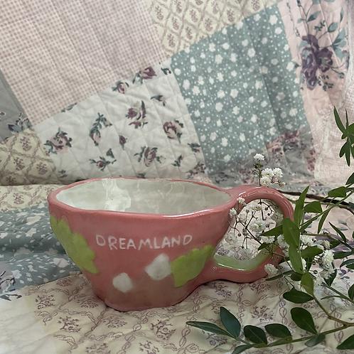 Pink Candy cloud mug