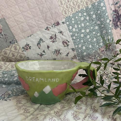 Green Candy cloud mug