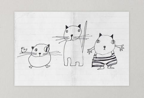 gatti schizzi.jpg