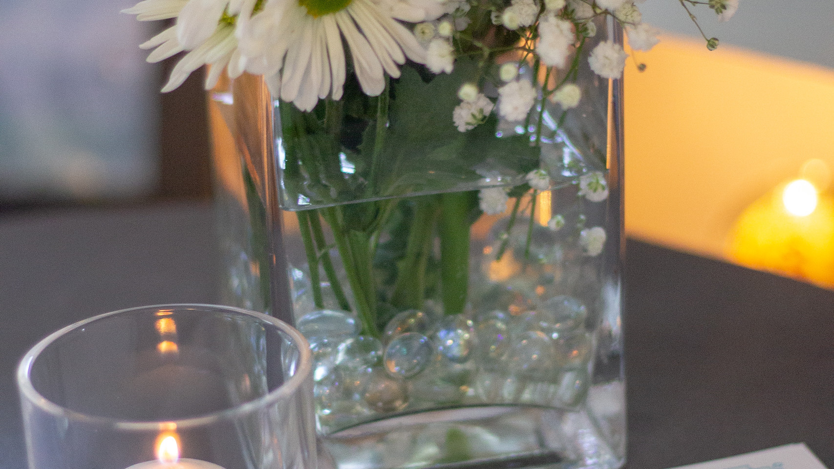 Fresh flowers at every event!