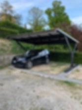 pensilina Solarparking Toscana