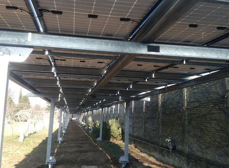 Installazione nuova pensilina Solarparking da 42,6 KWp a Treviglio (Bg)