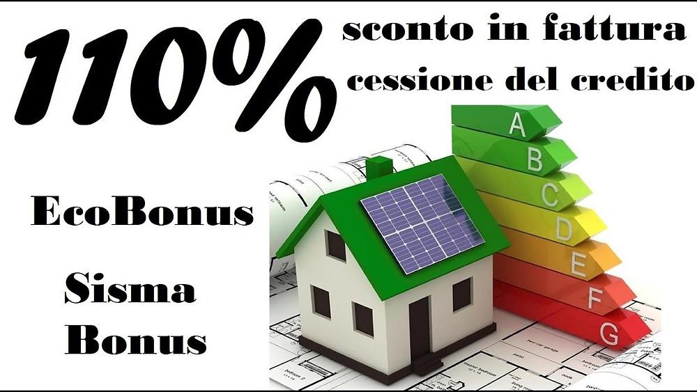 Riqualificazione energetica, sconto in fattura superbonus, ecobonus, bonus facciate