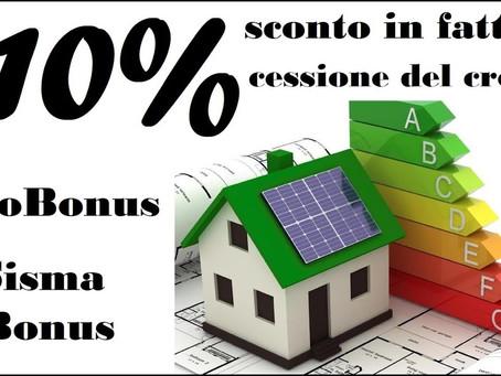 Superbonus 110%, online il sito ufficiale dell'Agenzia delle Entrate ed Enea