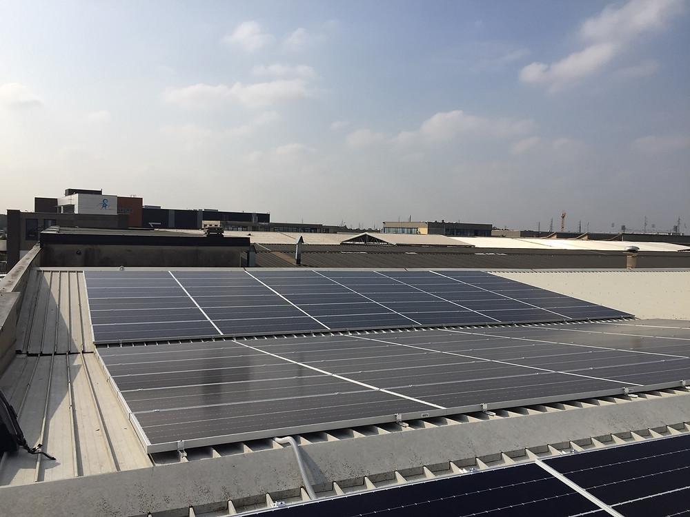 impianto fotovoltaico Sunpower Monza Brianza