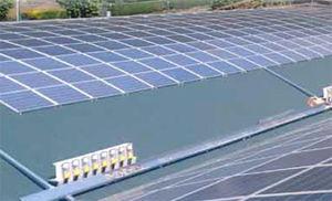 impianto fotovoltaico tetto curvo
