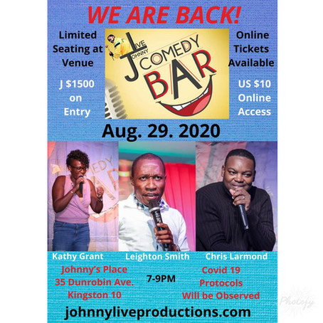 The Johnny Live Comedy Bar is Back!