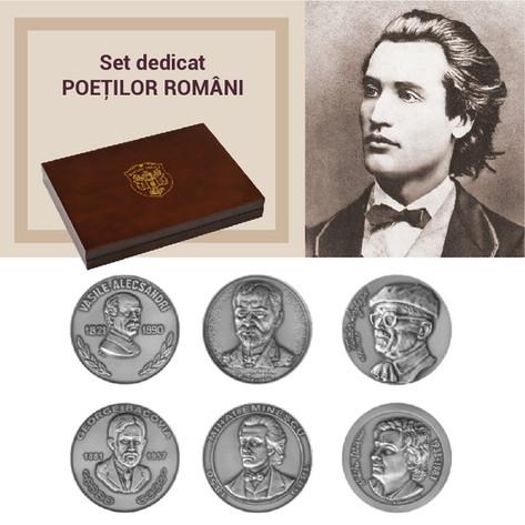 Set dedicat POEŢILOR ROMÂNI