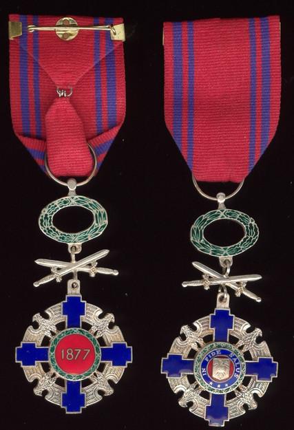 Star-of-Romania-Order-Knight-militaries-