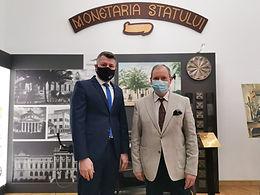 Ședință de lucru Dumitru Prunariu