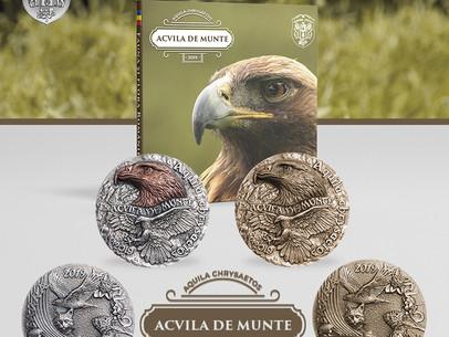 Medalie de colectie - Acvila de munte