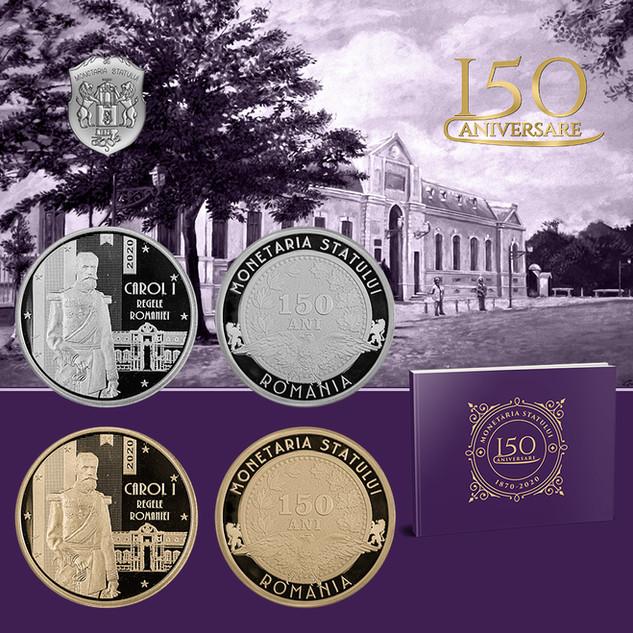 Monetăria Statului - 150 ani