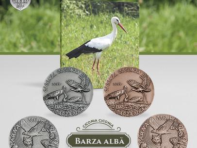 Medalie de colectie - Barza Alba