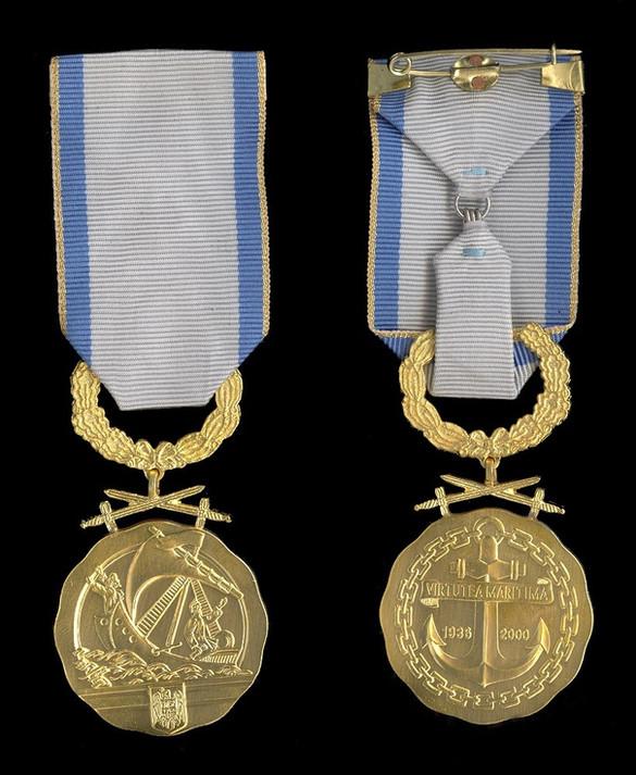 Maritime-Virtue-Medal-IstClass-Militarie