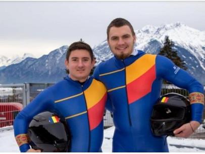 Felicitări echipajului românesc de bob 2 persoane !