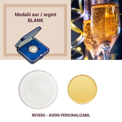 Medalii aur / argint Blank