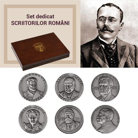 Set dedicat SCRIITORILOR ROMÂNI