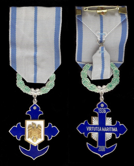 Maritime-Virtue-Order-Knight-civils-obve