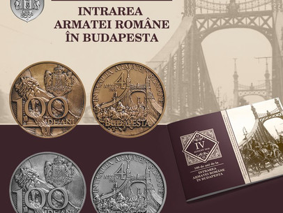 Medalie de colectie -100 ani de la intrarea Armatei Române în Budapesta