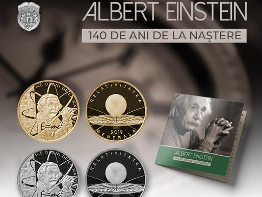 Medalie de colectie Albert Einstein