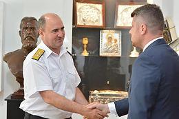Ședință de lucru  Forțele Navale Române
