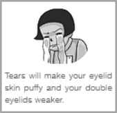 Sodium from tears