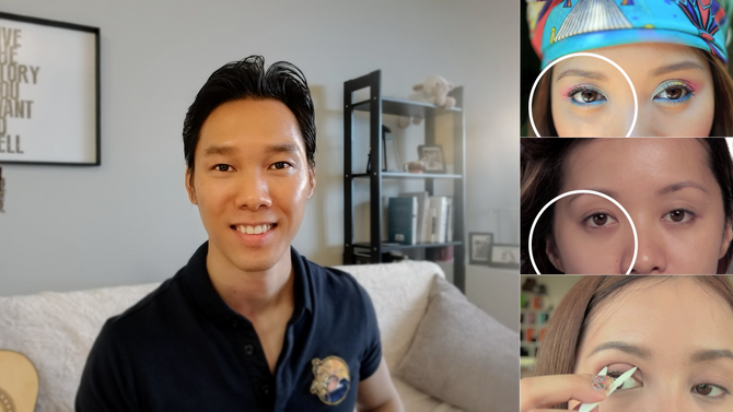 YouTubers' double eyelid info not approved by medical schools