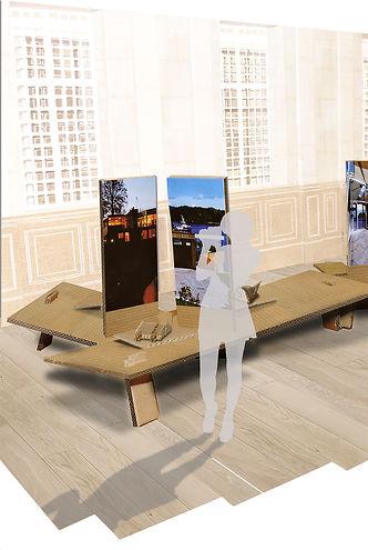 justinetison-designespace-scenographie-expositionarchitecture-carton-festival-boreales-caen