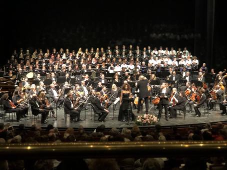 תמונות מהקונצרט כרמינה בורנה