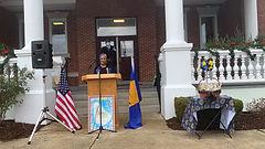 Randolph Flag Raising 2020