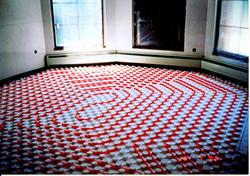 RD Zizkova P4 - podlahové topení