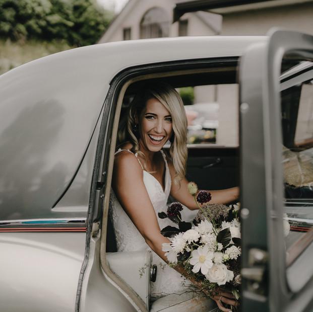 Dried and Wild flower Wedding