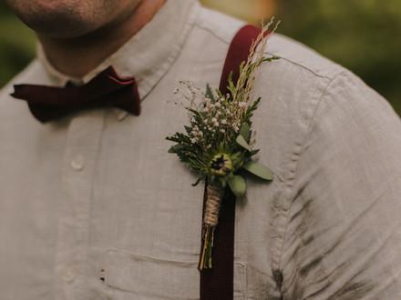 Rustic Woodlands Wedding