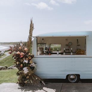 caravan bar for wedding party