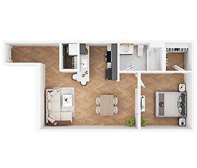 Apartment 422