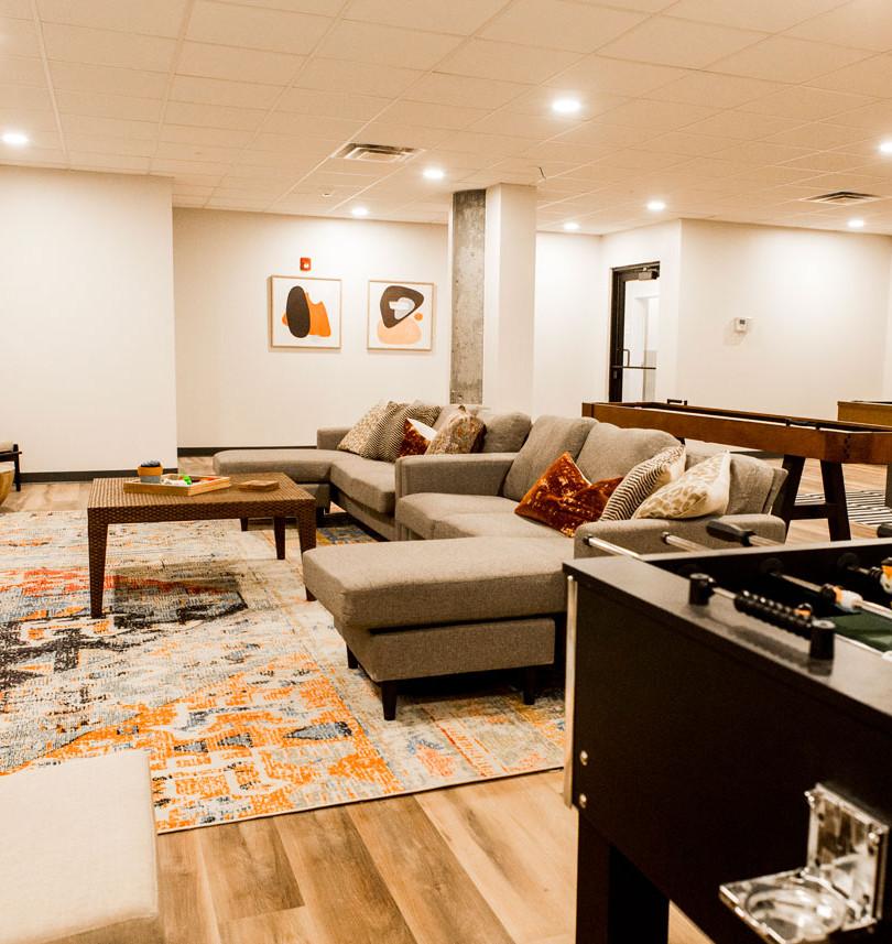 The Knick rec room amenities 5