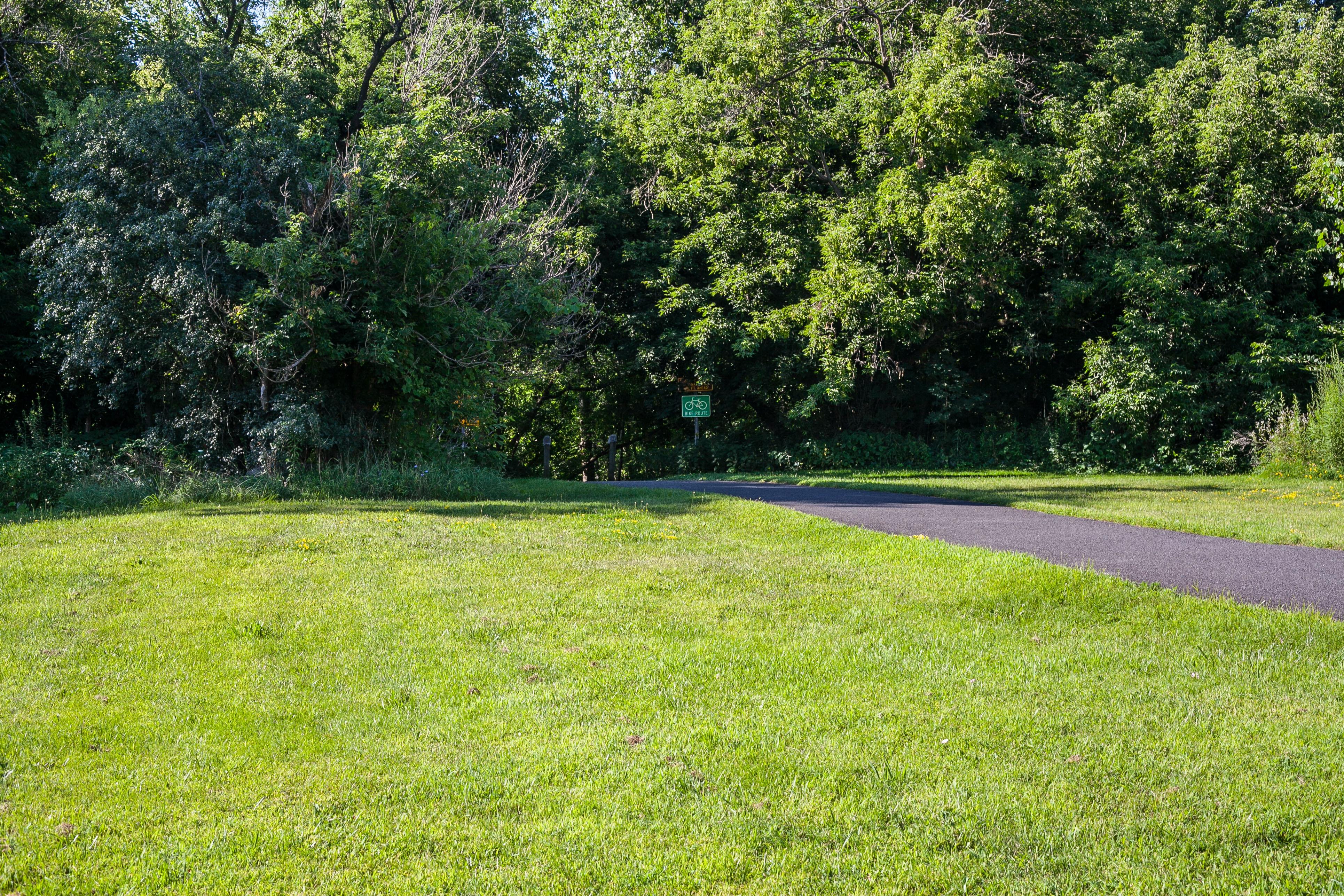 Corning Preserve Bike Path