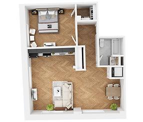 Apartment 615