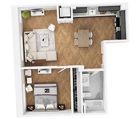 Apartment 614