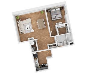 Apartment 406