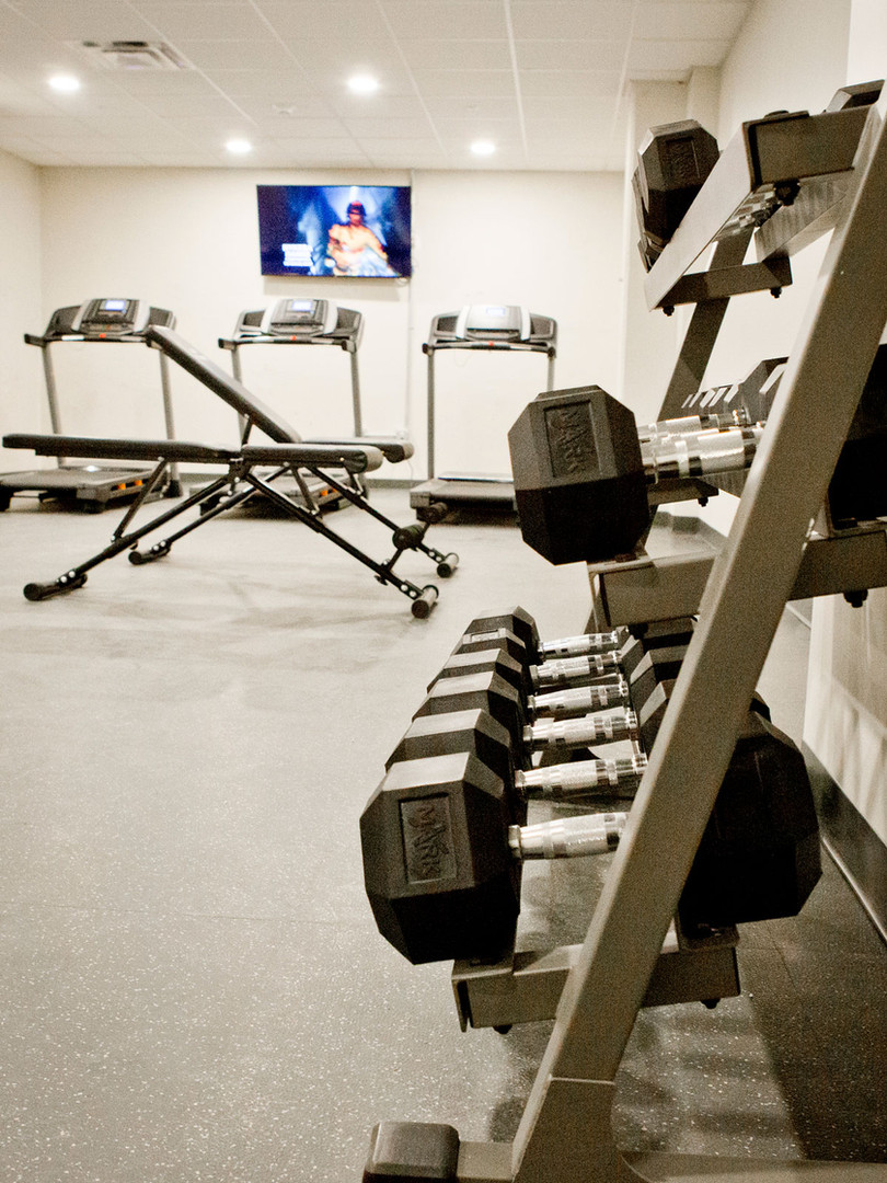 The Knick gym 1