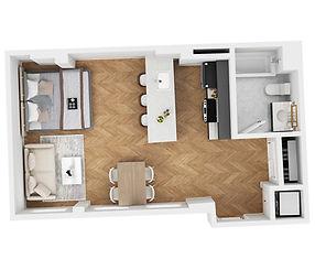 Apartment 419
