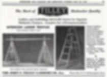 Tilley Ladders Co. Ad