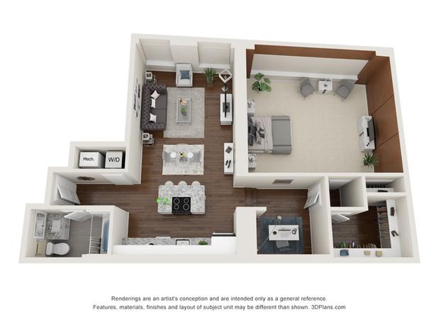 Apartment 302 Floor Plan
