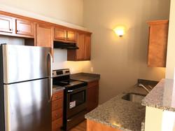 school one apartment kitchen