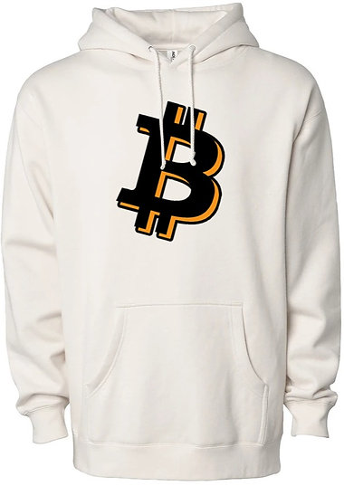Bitcoin Heavyweight Sweater Hoodie