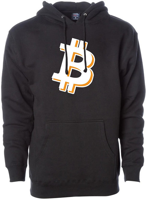 Bitcoin Heavyweight Sweater Hoodie