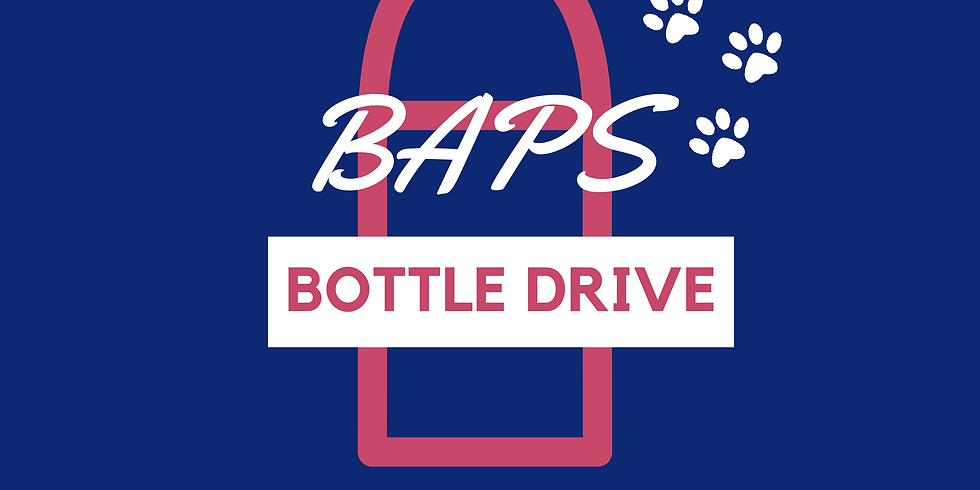 BAPS Bottle Drive (Pick Up)