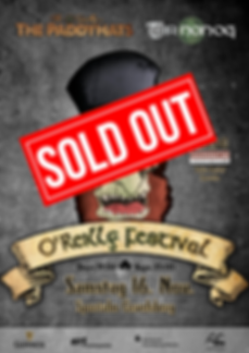 O'Reilly Festival Plakat 2019 SOLD OUT s