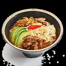 BBQ Spicy Kimchi Ramen Soup